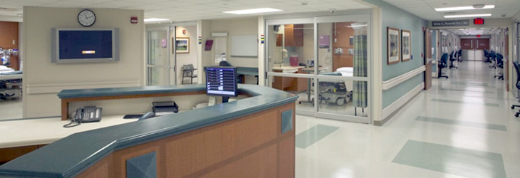 resilient floors in hospital