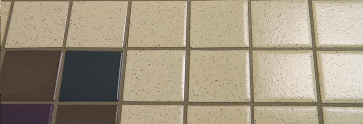 Tile floor after cleaning with FSG's proprietary Foamtech method